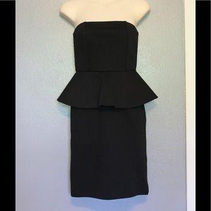 Alice + Olivia Employed Black Mary Peplum Dress 4